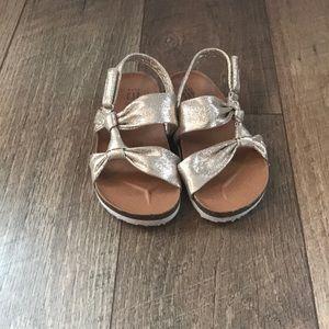 Gap Toddler Girls Sandals Gold